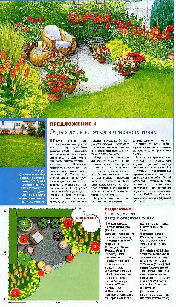 Pin von Marina auf Схемы Цветники | Flower gardens | Flower Beds ...