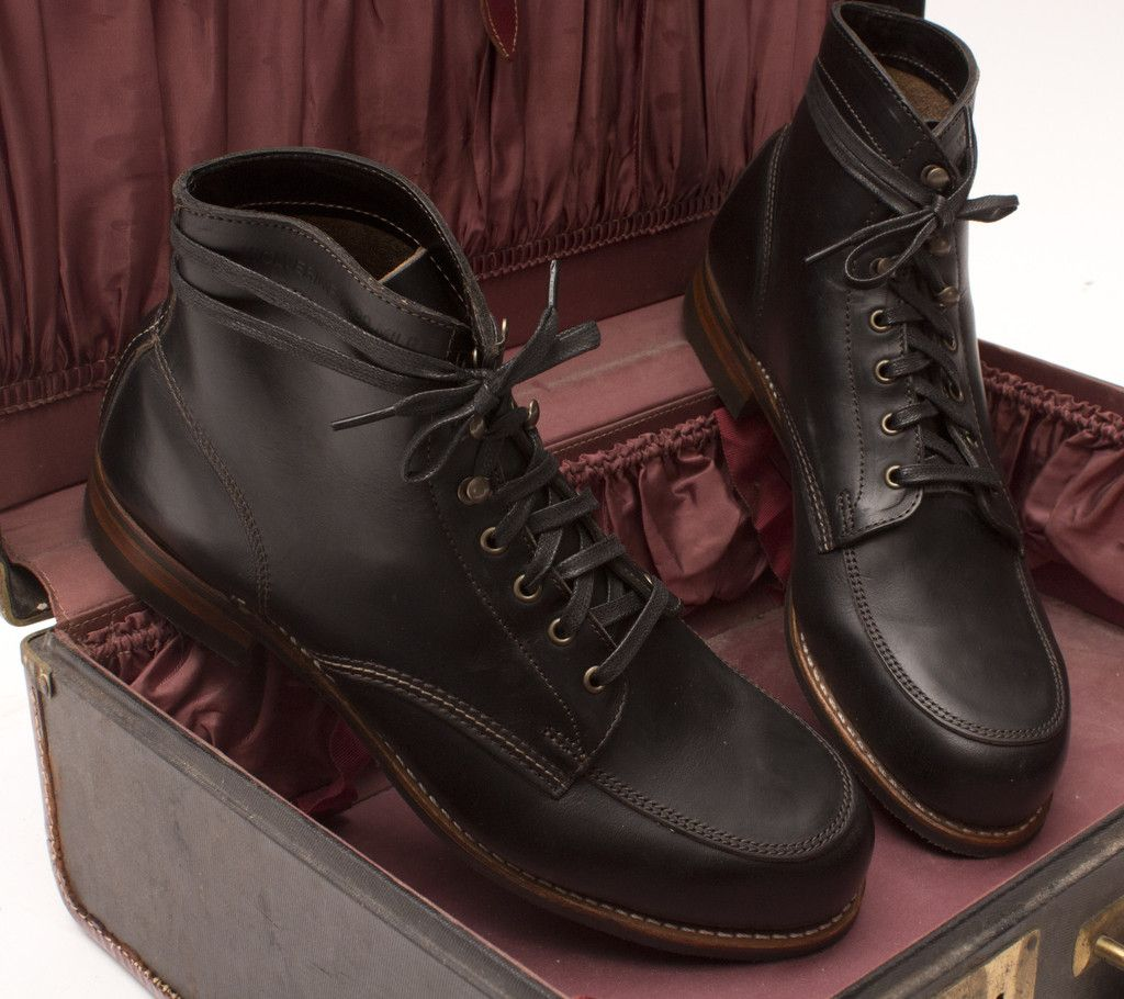 2b1f07f94e4 Wolverine 1000 Mile Courtland Moc-Toe Boot in Black | Style | Boots ...