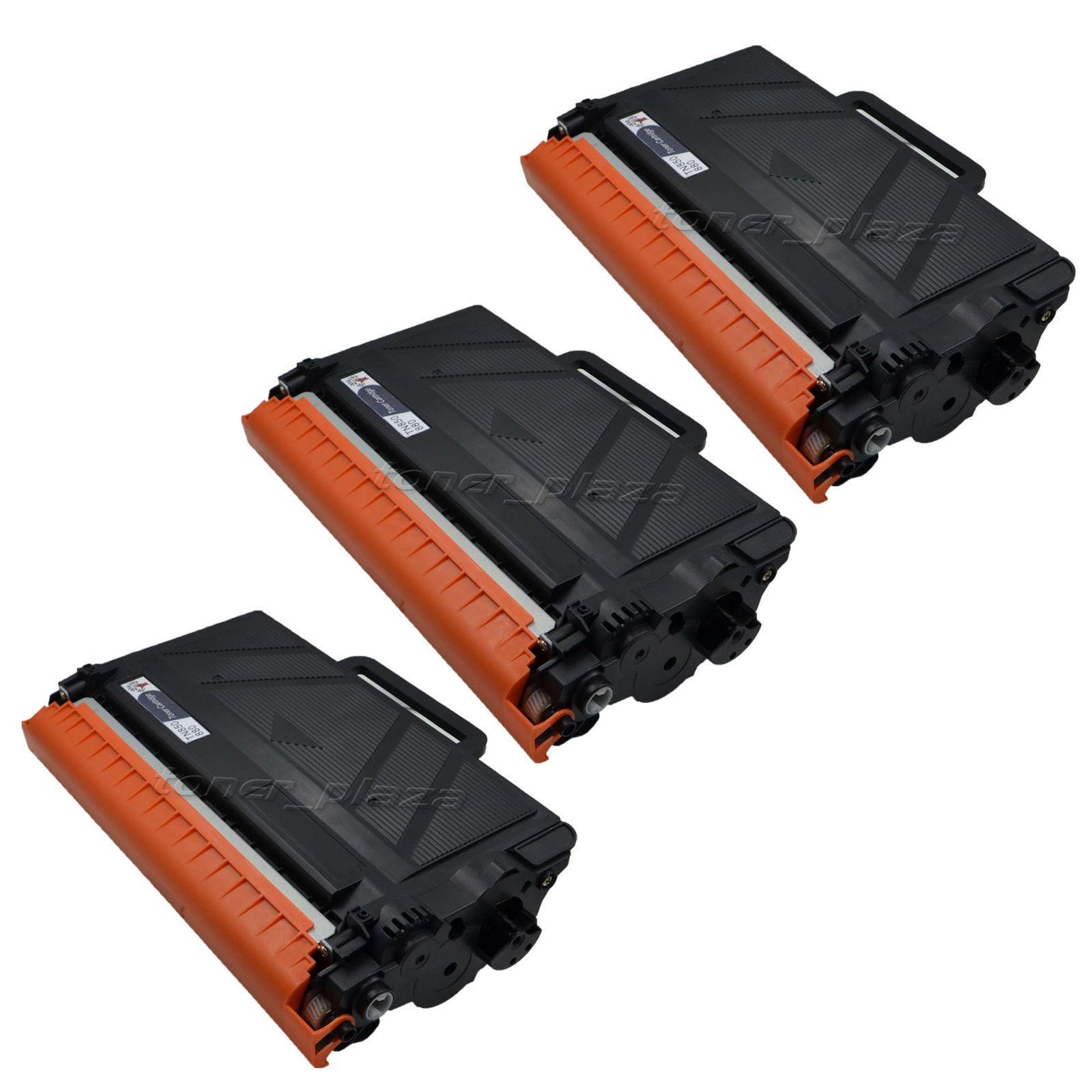 3pk TN850 Toner Cartridge For Brother 850 HL-L6200DW L6300DW MFC-L6900DW Printer