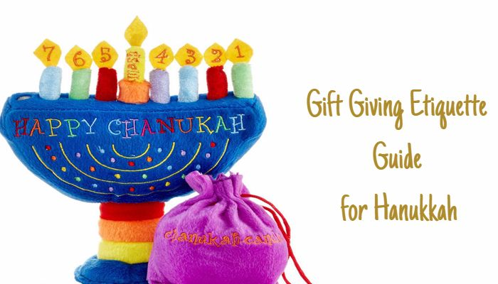 Gift Giving Etiquette Guide for Hanukkah : Know Do's and ...