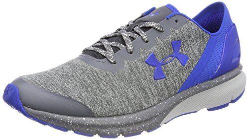 the best attitude 6583e 004bc Under Armour UA Charged Escape Chaussures de Running Compétition Homme Gris  (Glacier Gray) 43