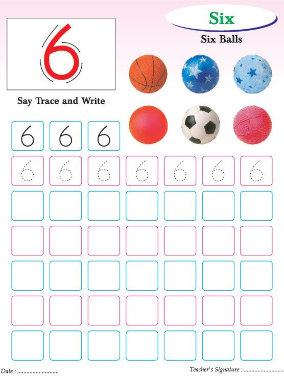 Numbers writing practice worksheet6 – Number Writing Practice Worksheets