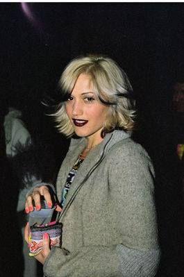 Gwen Stefani at a Hole concert