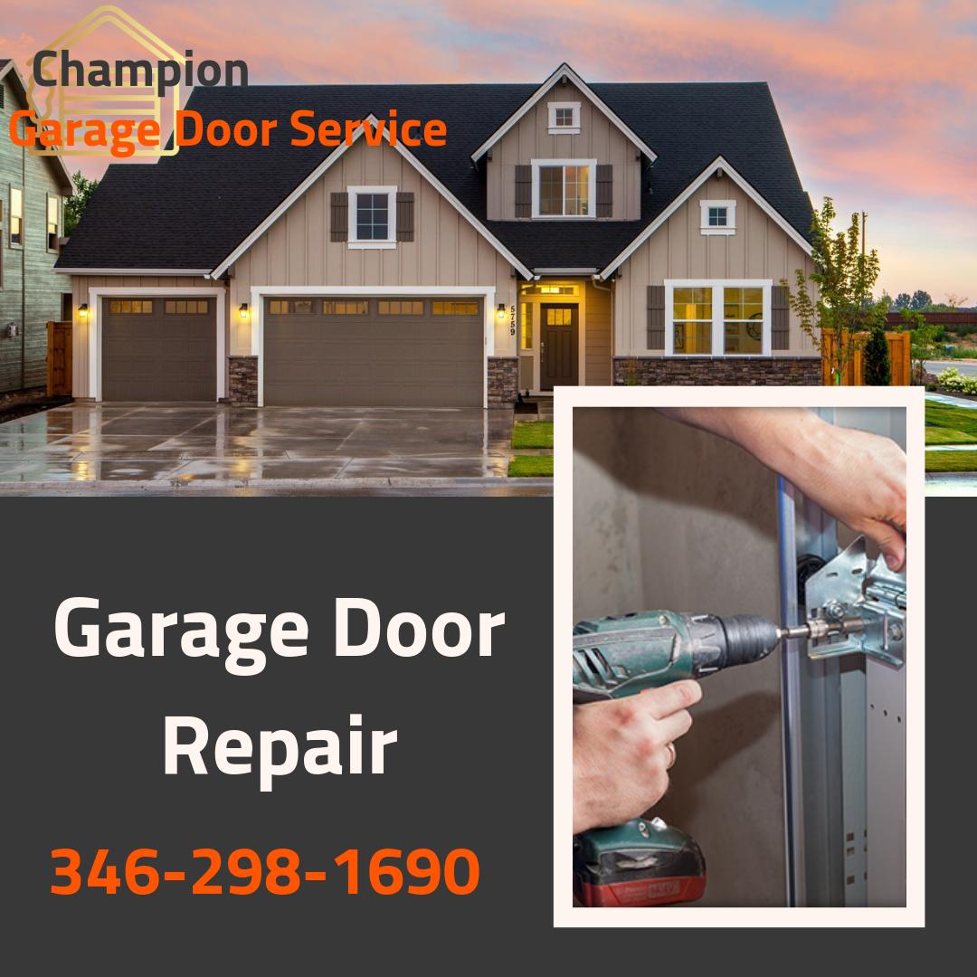 Garage Door Repair In Houston With Images Garage Door Repair