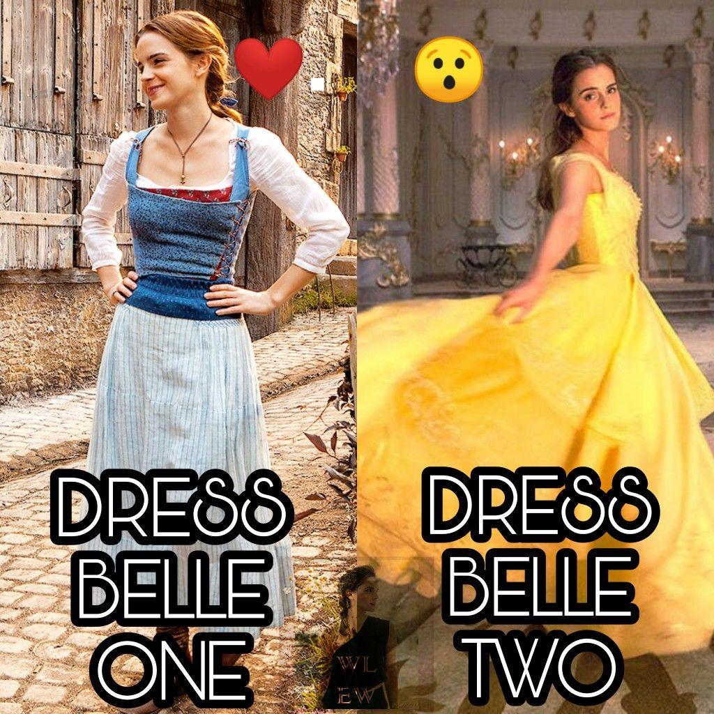 Sondaggio emma dress belle one dress belle two instagram