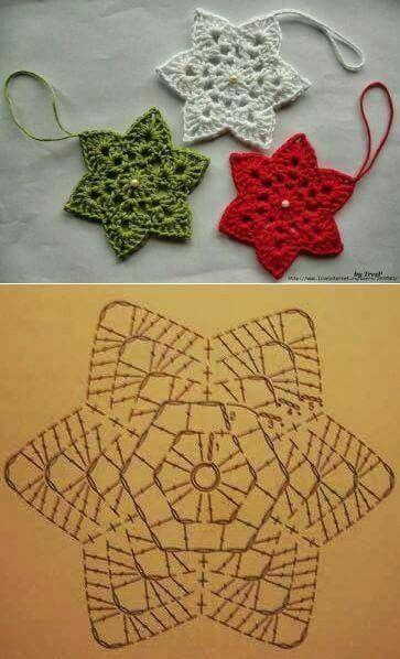 Pin de Liz Mathew en Crochet | Pinterest | Natal, Navidad y Tejido