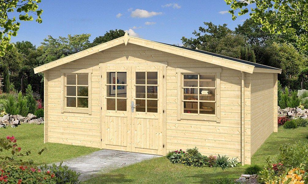 BLEUET, abri bois en épicéa 28mm de 175m² intérieur Abris de - construire un cabanon de jardin en bois