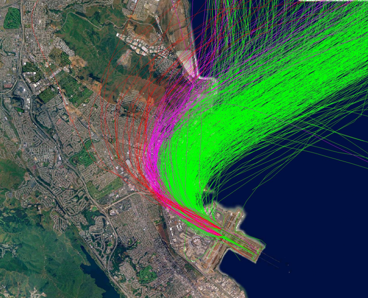SFO Fly Quiet Map atcscc