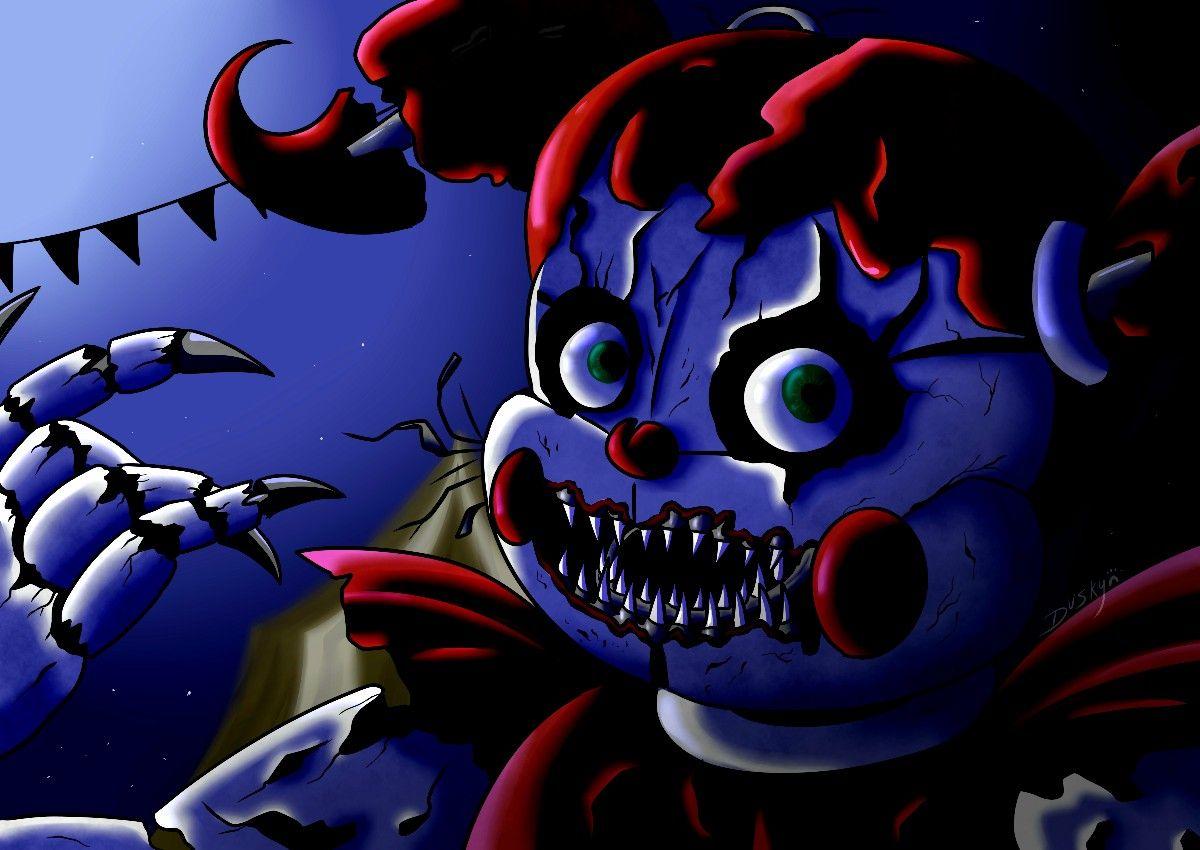 Baby S Nightmare Circus Fnaf Drawings Fnaf Baby Fnaf Art