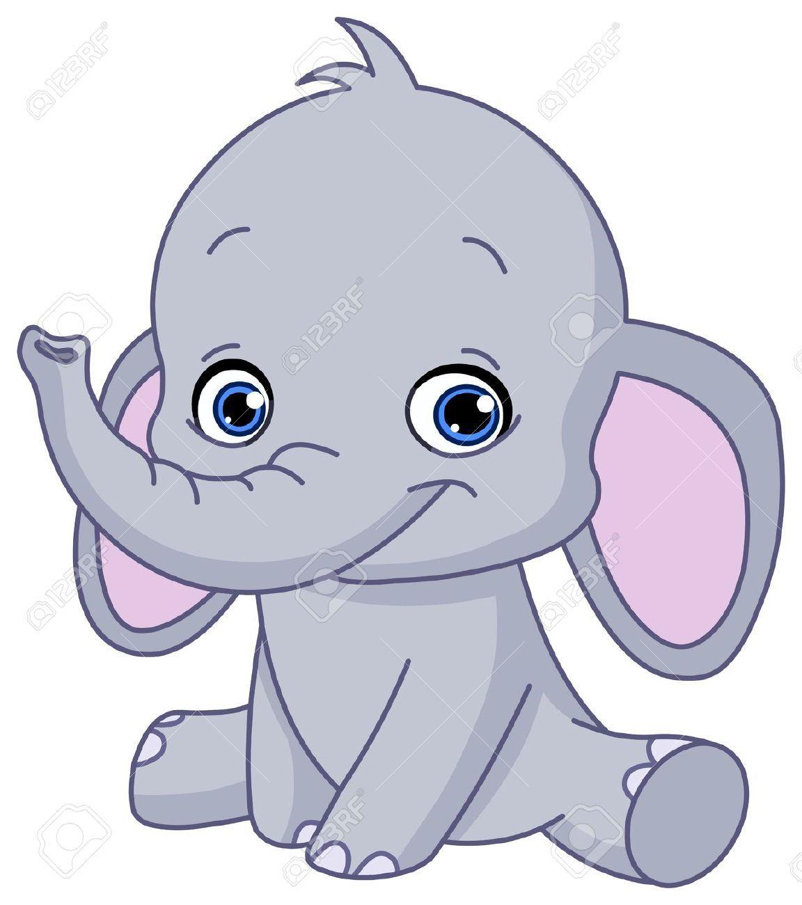 afbeeldingsresultaat voor tekening babyolifant ideeen traktatie