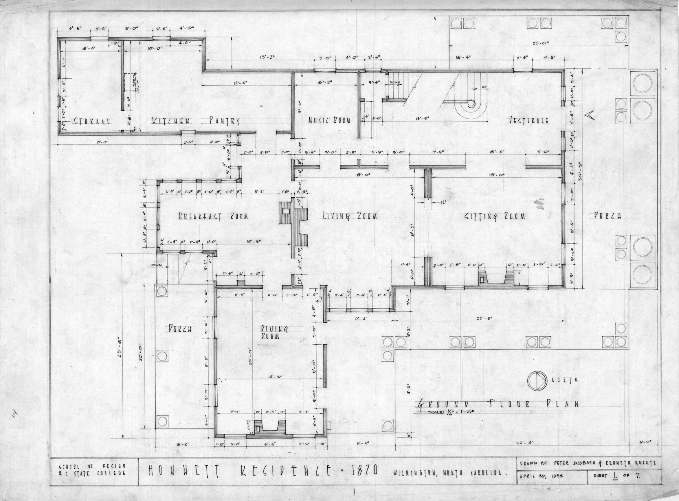 Italianate House Plans Historic 1870 Floor Plans Townhouse House Plans