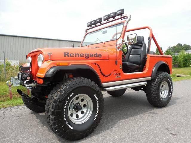 Renegade Jeep Cj Badass Jeep Jeep