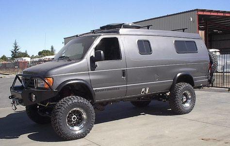 The Ten Best Post Apocalyptic Survival Vehicles 4x4 Van