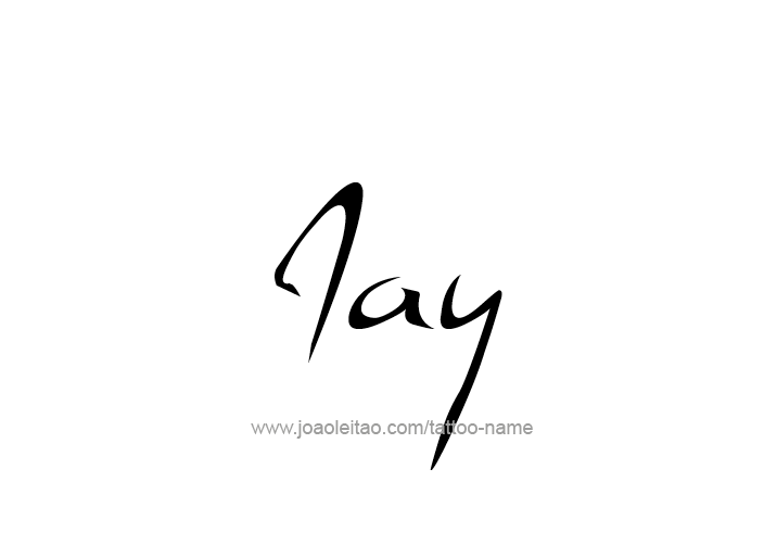 66b611ef20966 Jay Name Tattoo Designs | jay | Name tattoos, Name tattoo designs ...