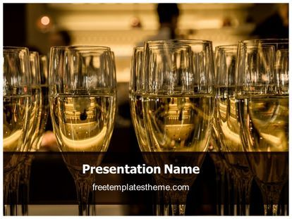 Get this free champagne powerpoint template with different get this free champagne powerpoint template with different slides for you upcoming toneelgroepblik Gallery