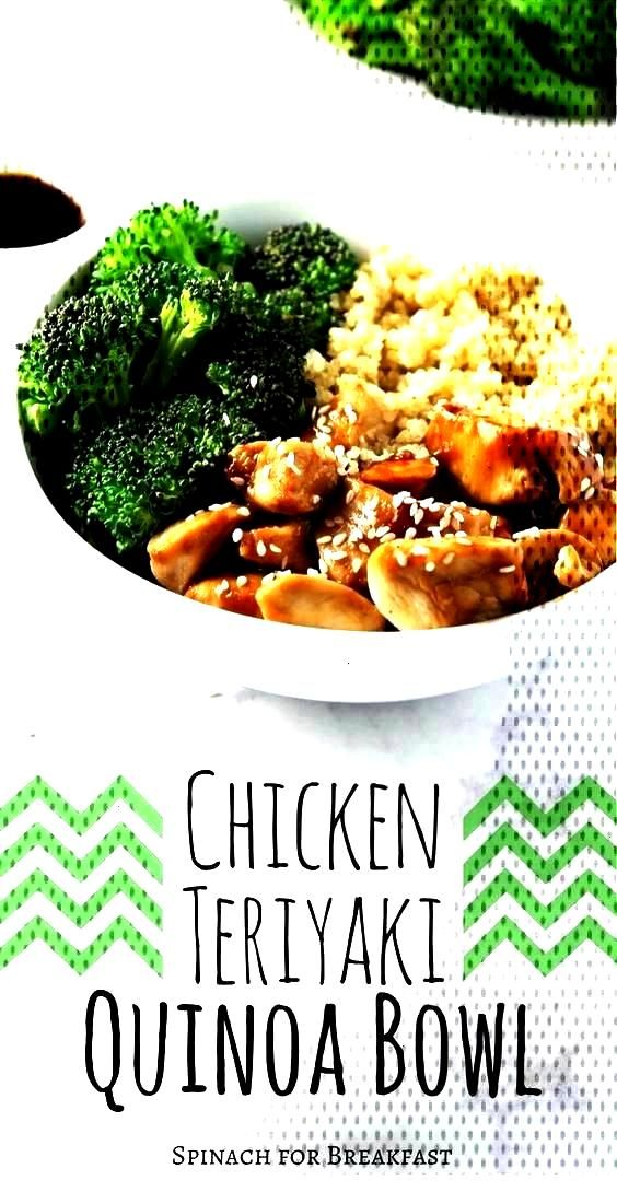 this CLEAN EATING | CHICKEN TERIYAKI QUINOA BOWL is so yumm!! Just CLICK ...You can find Quinoa a..