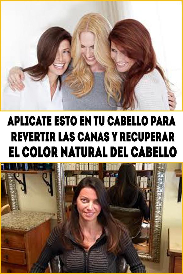 aplicate esto en tu cabello para revertir las canas y recuperar el color  natural del cabello 38053d680989