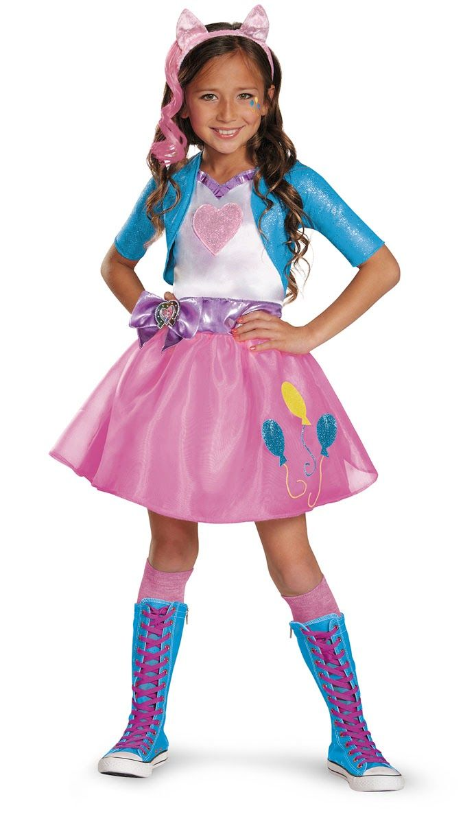 MLP Equestria Girls Pinkie Pie Halloween Costume | My Little Pony ...