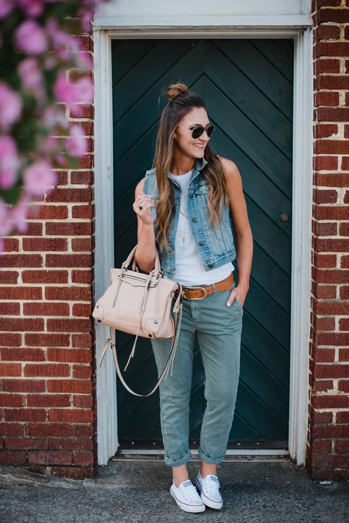 0e74590beb1 How to style Gap s Girlfriend Chinos 3 ways