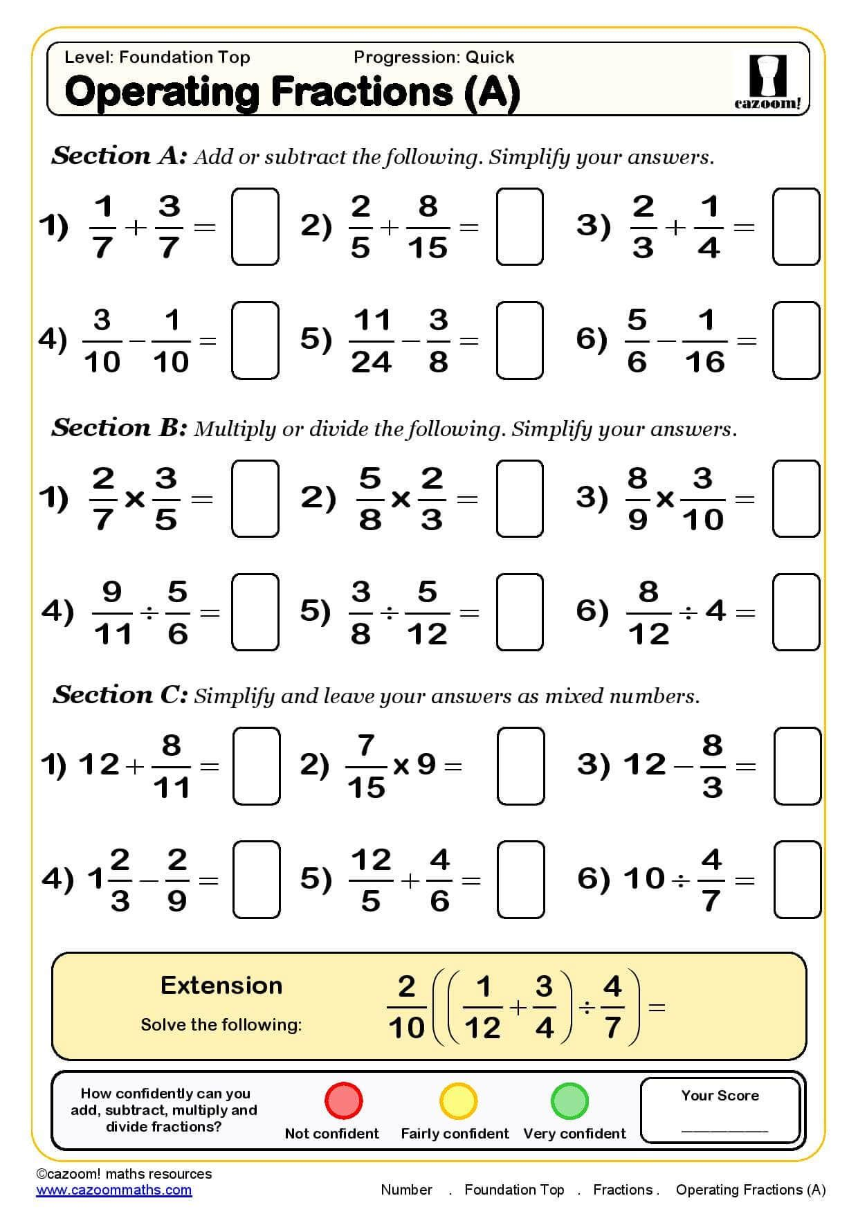 Ks3 Amp Ks4 Maths Worksheets