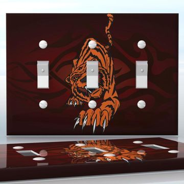 Diy do it yourself home decor easy to apply wall plate wraps diy do it yourself home decor easy to apply wall plate wraps tiger attack solutioingenieria Images