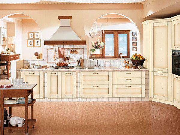 Risultati immagini per arredamento cucina provenzale rosso | Home ...