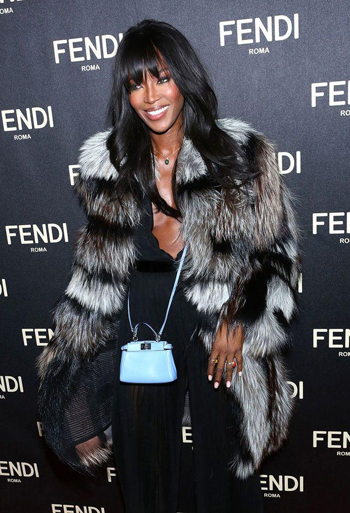 Naomi-Campbell-Fendi-Micro-Peekaboo-Bag   Celebrities   Street ... ab2e4cededd5