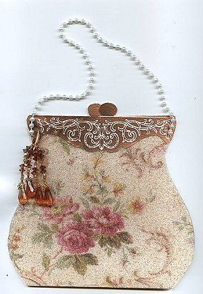 victorian purse card (Dyan Cross - http://pinterest.com/dyancross/