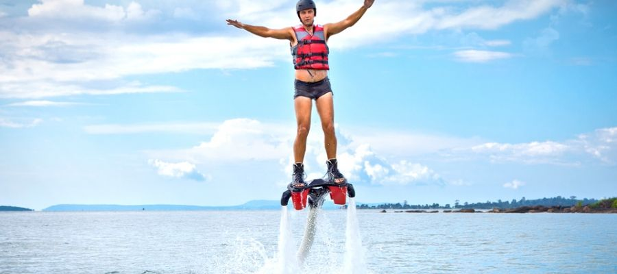 Jetpacks Flyboarding In Myrtle Beach