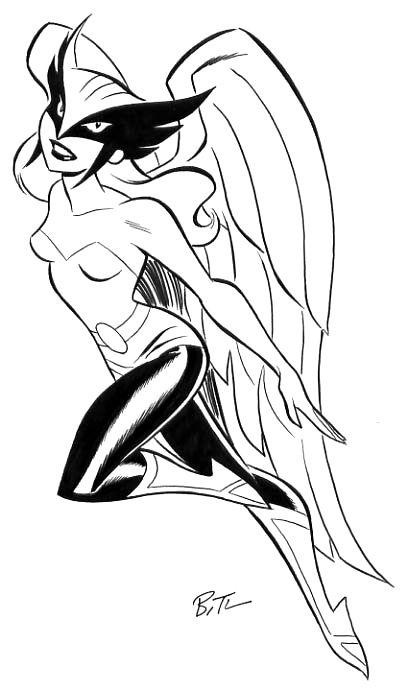 Ribbit ! Ribbit ! I\'m a frog ! Hawkgirl is so beautiful ! She\'s ...