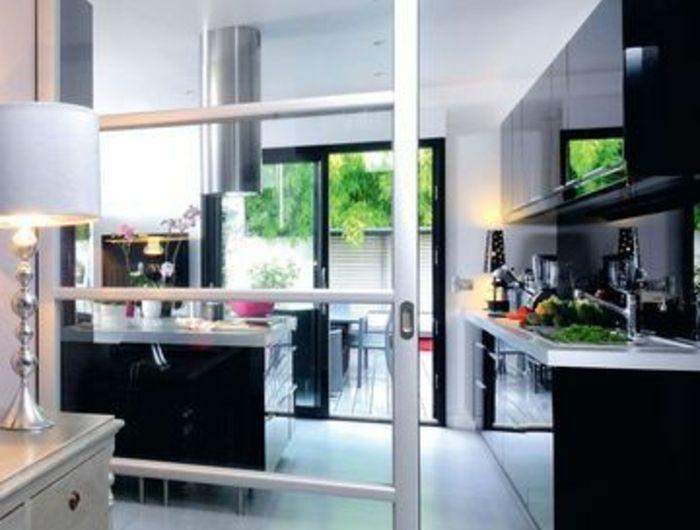 Découvrir la beauté de la petite cuisine ouverte! Decoration