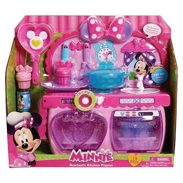 Minnie Bowtastic Kitchen Set Playset Minnie Mouse Toys Minnie