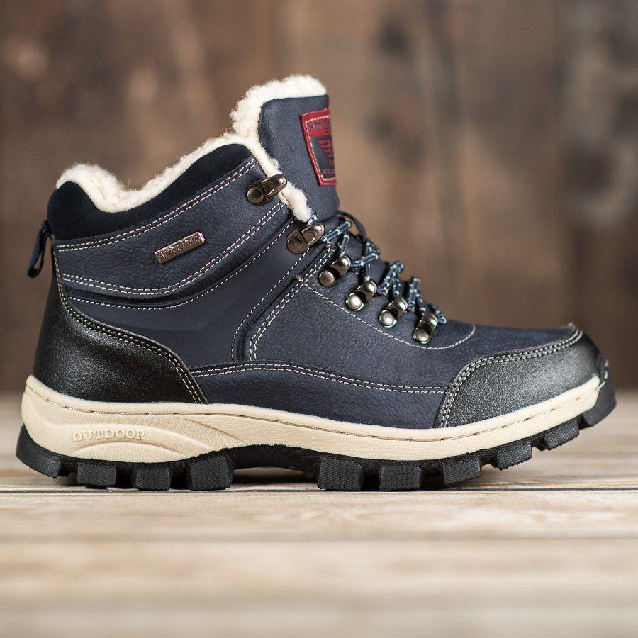 Arrigo Bello Sznurowane Buty Zimowe Niebieskie Boots Winter Boots Boot Shoes Women