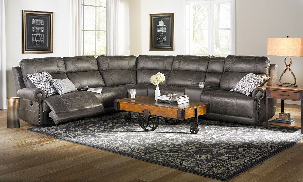 Picture Of Pierson Power Reclining Sectional Sofa Living Room Sets Furniture Power Reclining Sectional Sofa Living Room Furniture #the #dump #living #room #sets