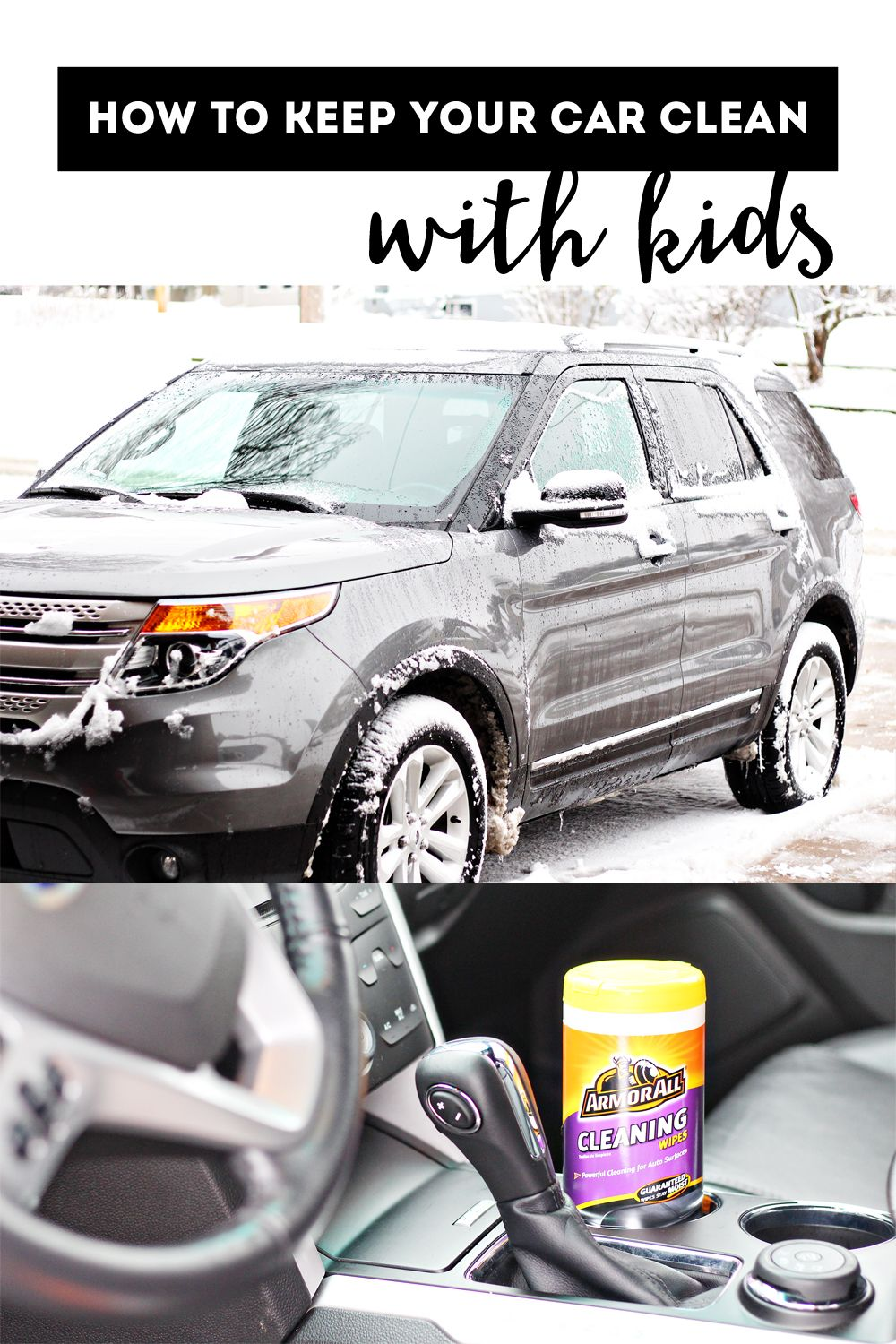 How to Keep a Clean Car with Kids - Sunny with a Chance of Sprinkles  #ArmorAllGiftPack #pMedia #ad