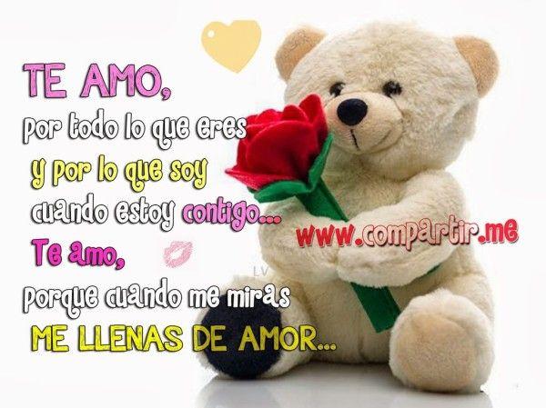 Poemas De Amor Osos Rosas Y Corazones Imagenes Bellas De Corazones Ositos Y Flores Con Frases De Amor