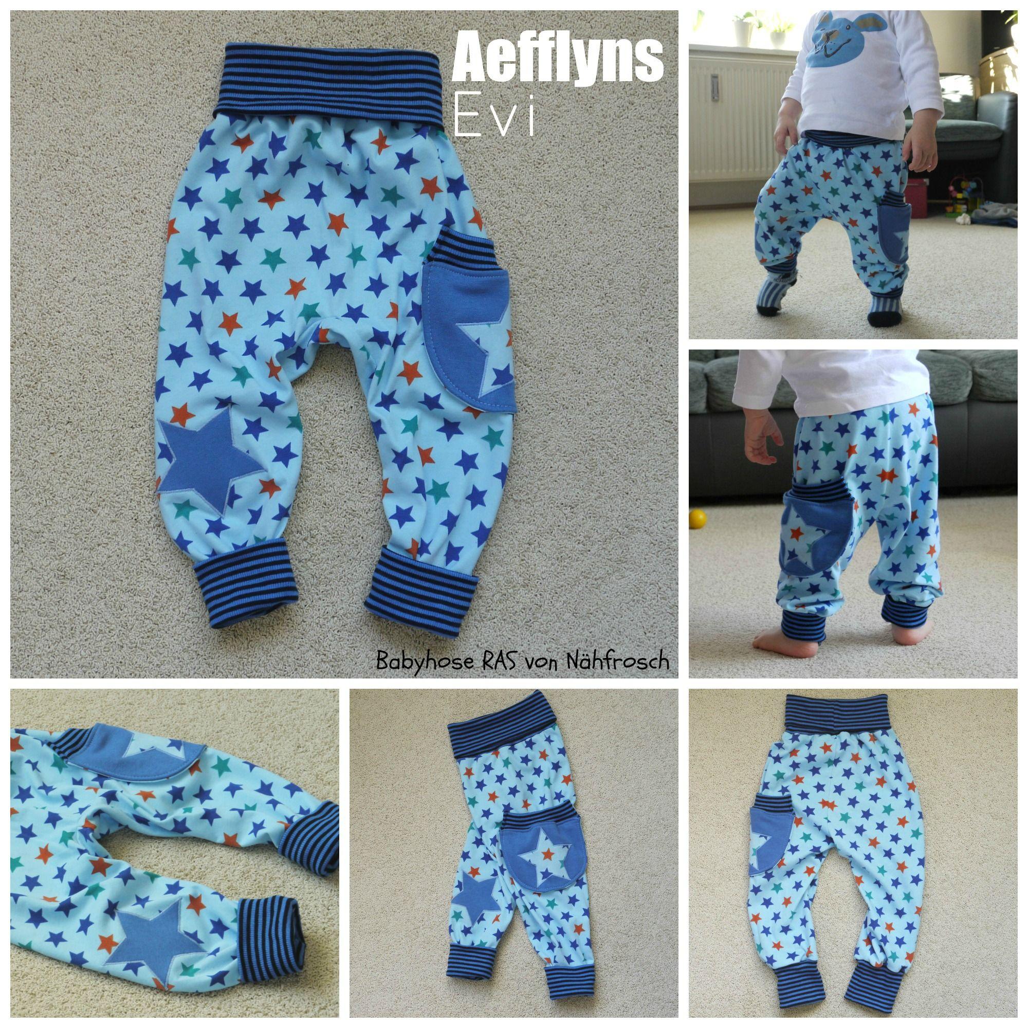 guter Verkauf klare Textur sehr günstig Babyhose nähen: Nähanleitung Babyhose RAS von | Babyhose ...