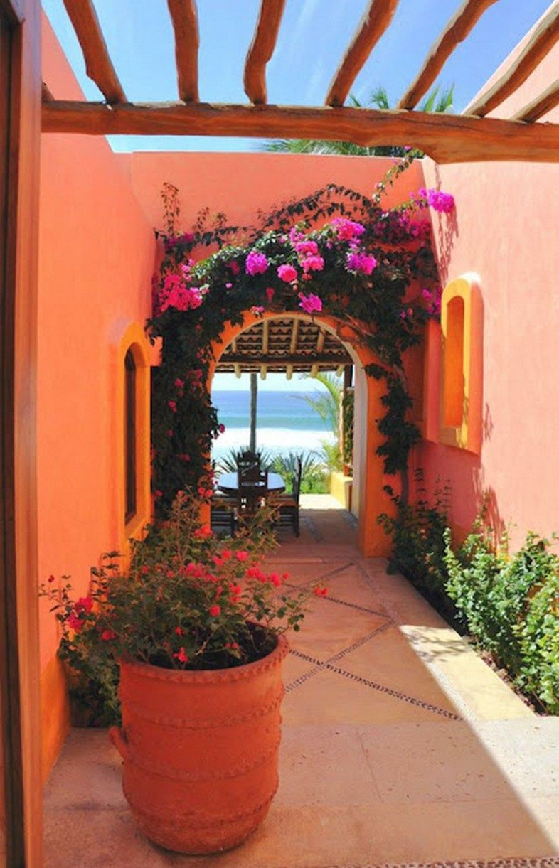 How To Create Modern House Exterior And Interior Design In Spanish Style: Modern Adobe House Exterior Design: 99 Amazing Ideas