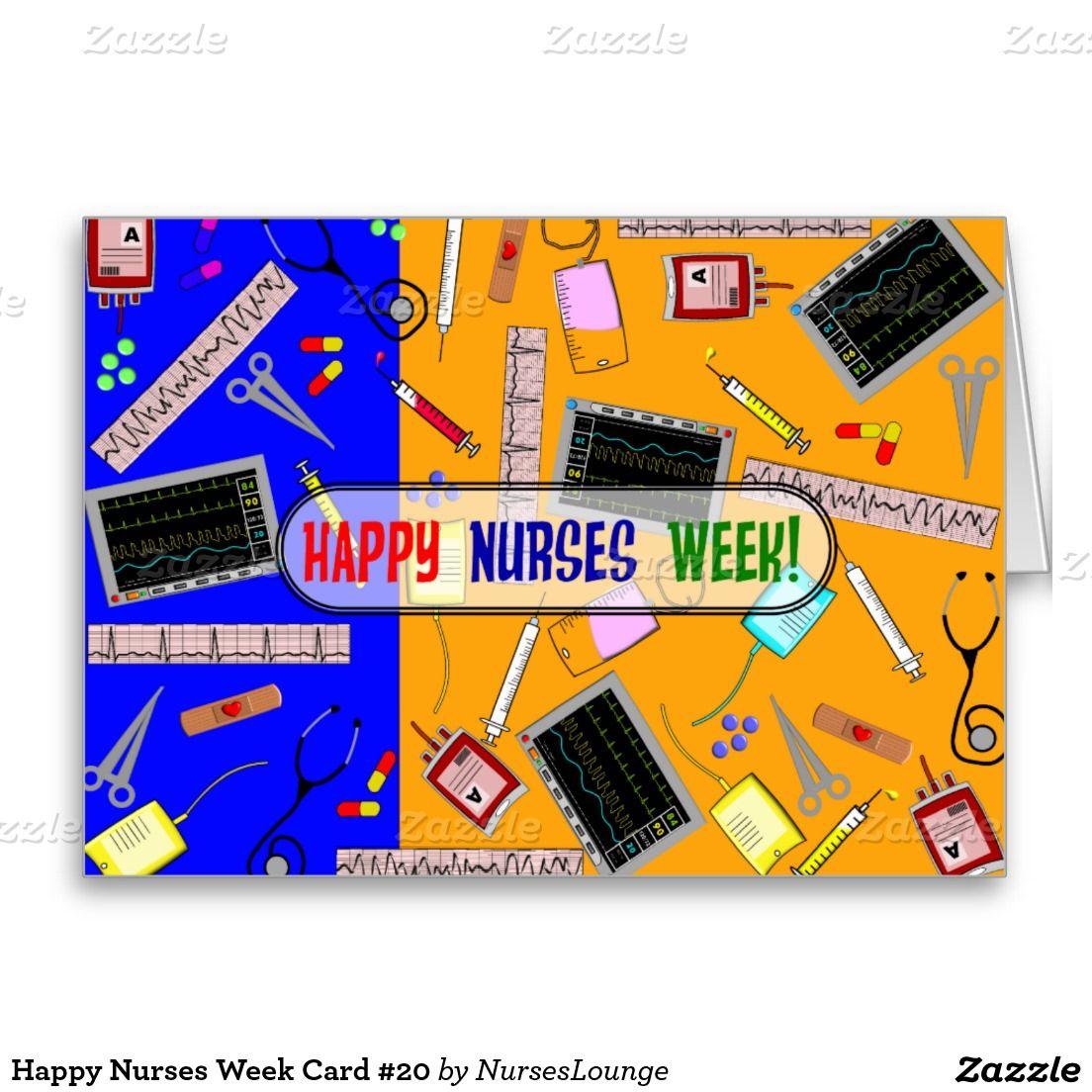 Happy nurses week card 20 icu nurse pinterest happy nurses happy nurses week card 20 greeting card m4hsunfo