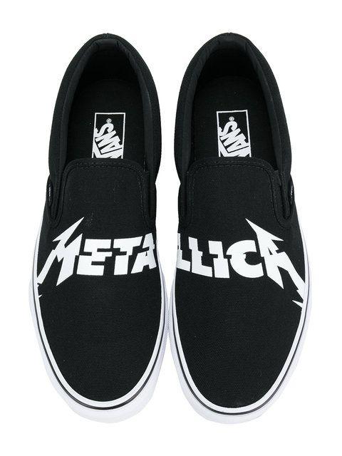 Vans Metallica classic slip-on sneakers