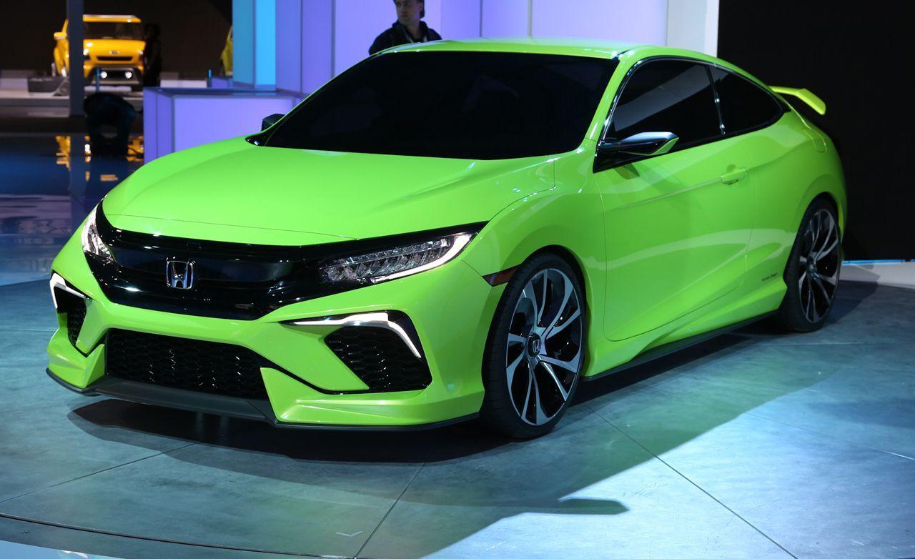 2016 Honda Civic Coupe Concept Photos and Info News