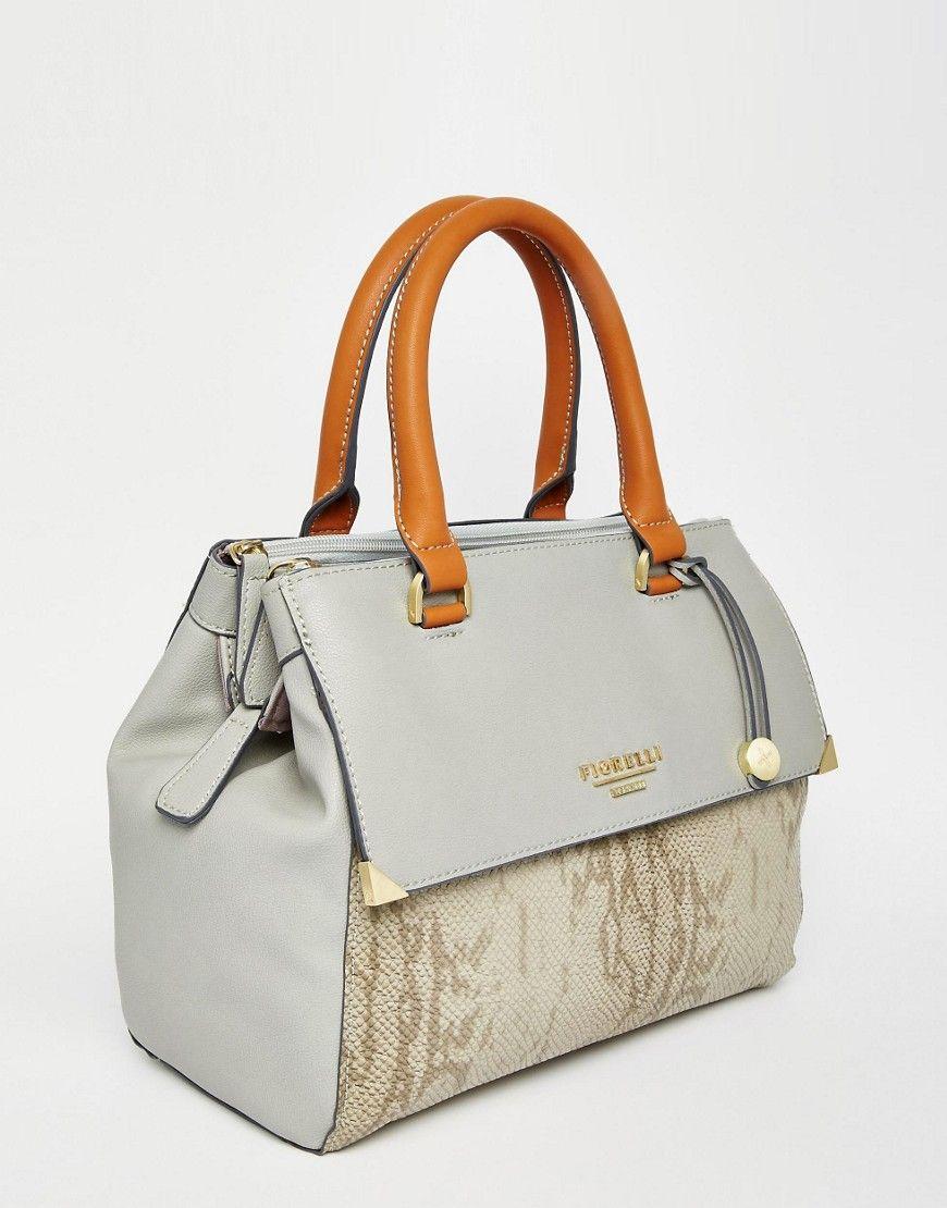 Fiorelli Grab Bag In Faux Python Print