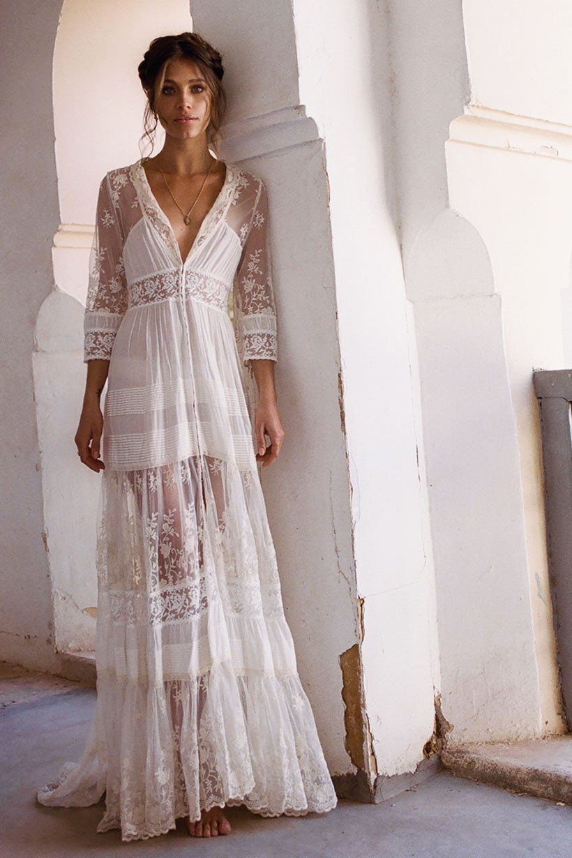 Evangeline gown jewels pinterest spell designs gowns and boho