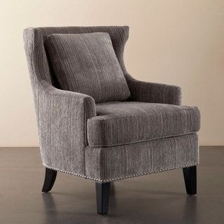 Sierra Grey Multi High Back Chair  Overstock™ Shopping  Great Brilliant High Back Living Room Chair Inspiration