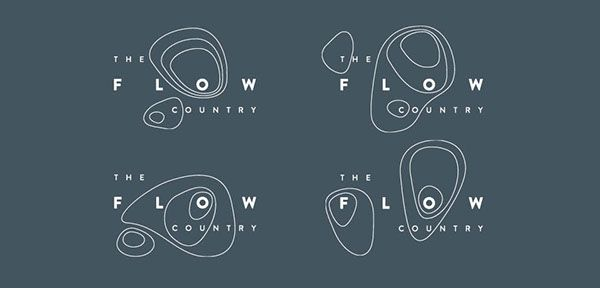 The Flow Country - Branding & Identity on Behance