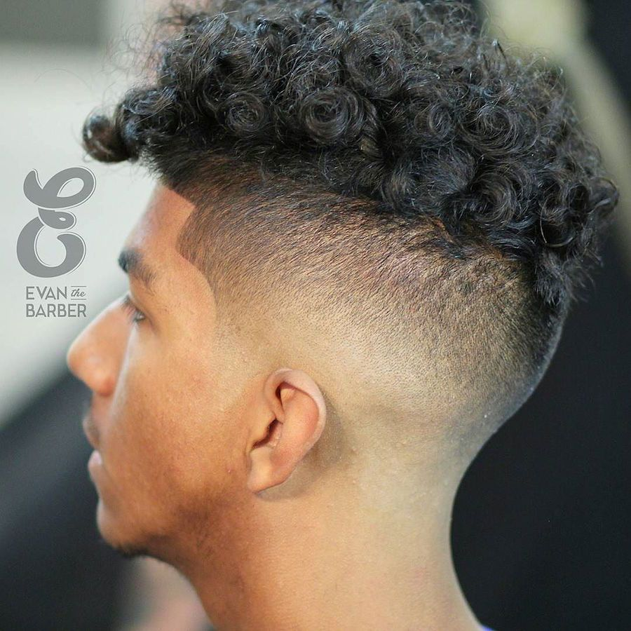 Straight perm for guys - Curly Hairstyles For Men 2017