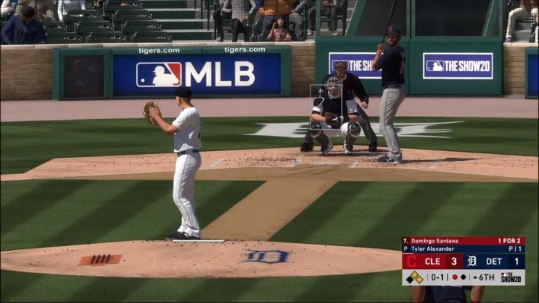 Watch replay Tigers lose 50 to Twins on 'MLB The Show 20