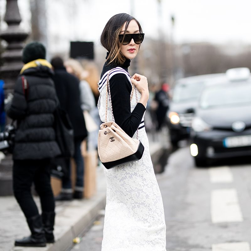 e9a0fce9e89a The One Chanel Bag Every Street-Style Star Is Wearing | My little ...