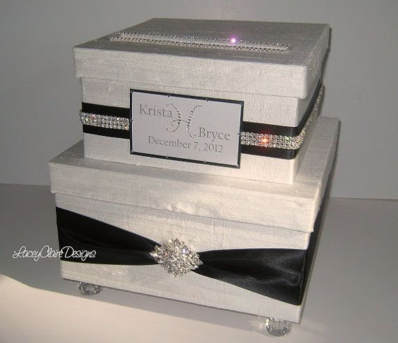 1000 images about Wedding Card Boxes – Purple Wedding Card Box