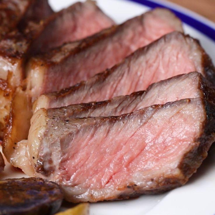 Grilled Sous Vide Steak grilled steak Graciela